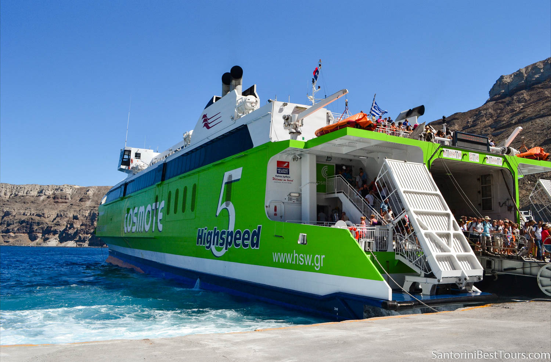 Highspeed ferry - Athionios Port of Santorini